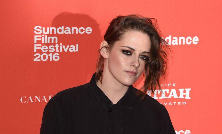 "Actress Kristen Stewart attends the ""Certain Women"" premiere at the2016 Sundance Film Festival onJan. 24, 2"