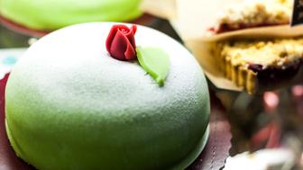 Princess Cake in market, Sodermalm district