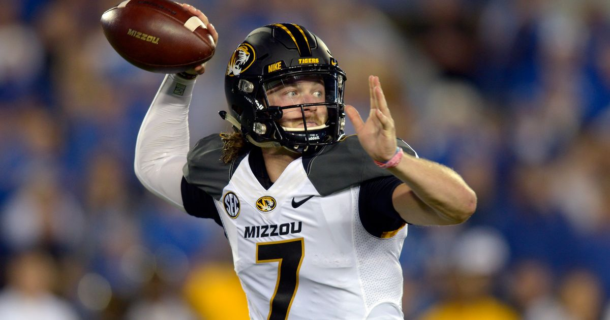 Mizzou suspends quarterback maty mauk after snorting video emerges