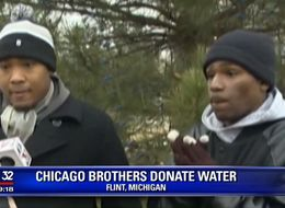Two Brothers Drive From Chicago To Flint To Deliver Clean Water