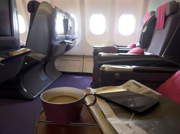 Here's The Reason Your Airline Coffee Tastes So