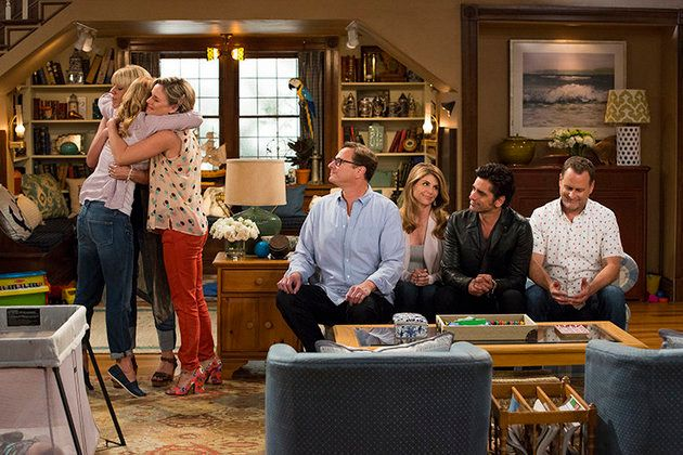 "A look from the upcoming Netflix series, ""Fuller House."""