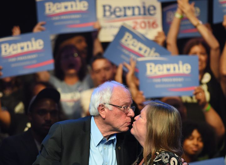 Personal attacks on Bernie Sanders bothers Jane Sanders, but she said they don't let politics get to them.