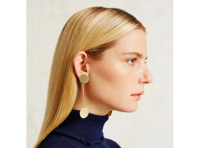 How Statement Earrings Can Help Big Ears Look Smaller