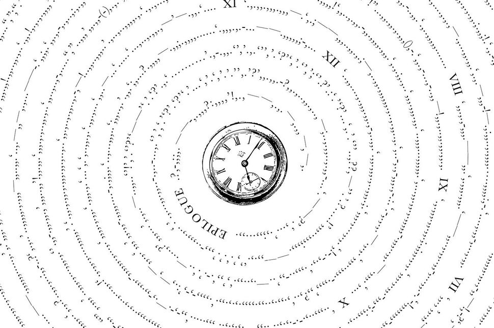 Just the punctuation from H.G. Wells'&nbsp;<i>The Time Machine.</i>