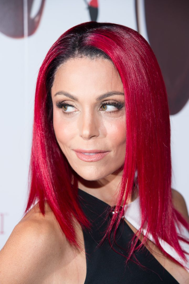 Bethenny Frankel arrives at the Skinnygirl Candy Launch at Dylan's Candy Bar in New York City.