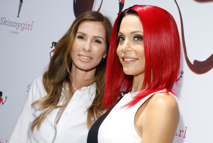 Carole Radziwill and Bethenny Frankel attend Skinnygirl Candy Launch at Dylan's Candy Bar.