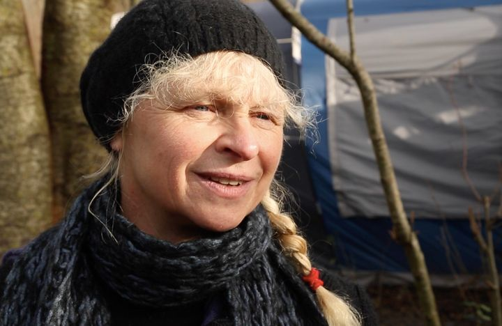 Rita Beesbrouck, a Belgian social worker who moved into the camp in September, feels that she's found her place in the world