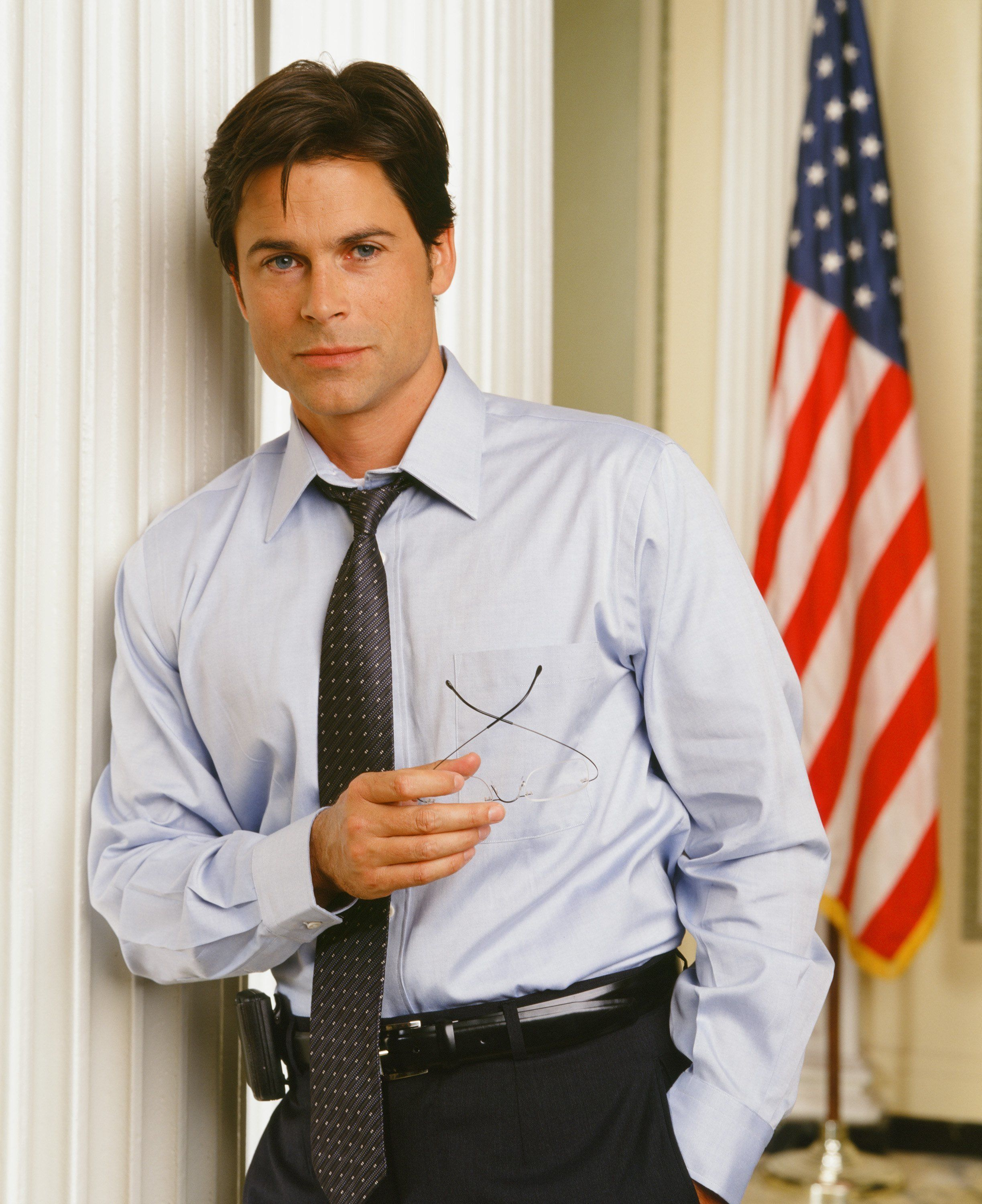 """Rob Lowe as Sam Seaborn from """"The West Wing."""""""
