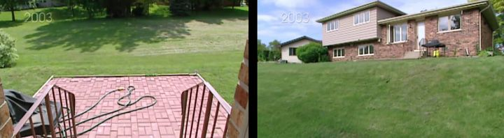 What Berkus originally saw (left) versus the hidden slope his team would have to solve for (right).
