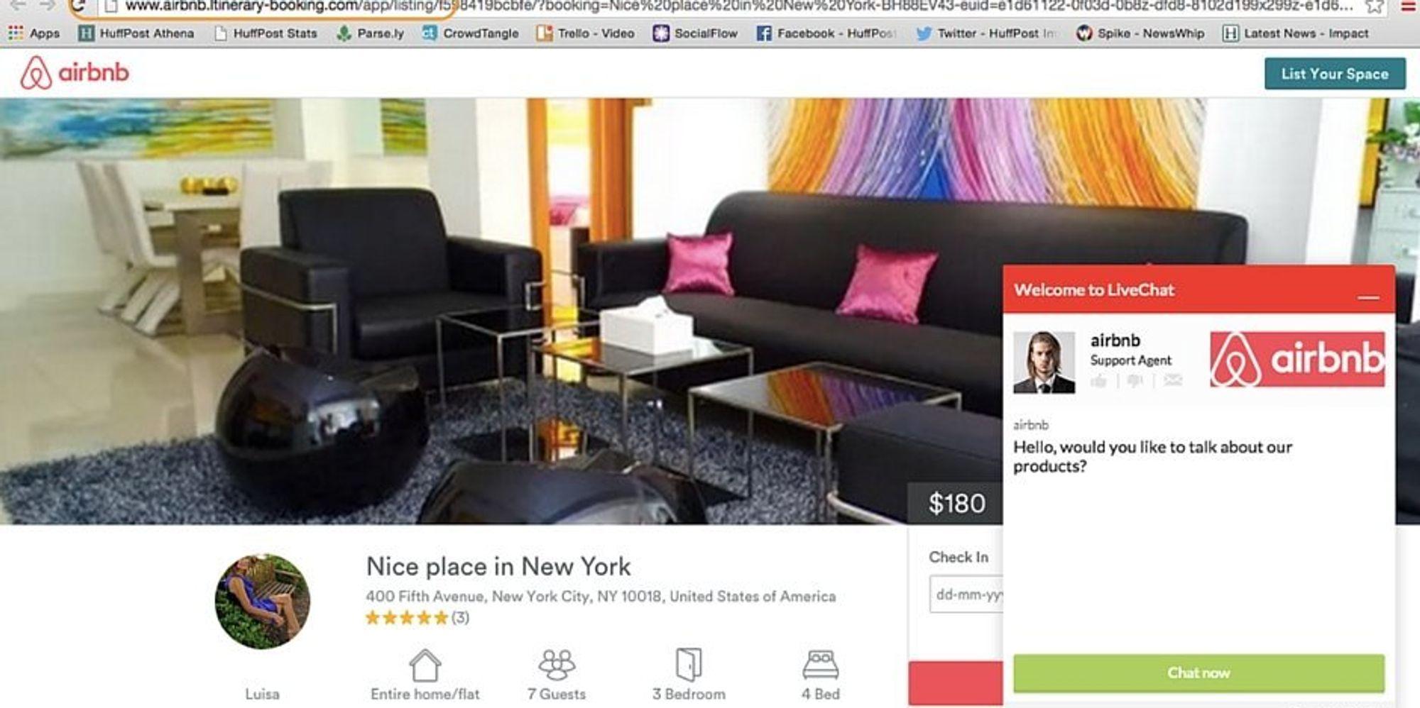 Beware This Evil Genius Airbnb Scam The Huffington Post
