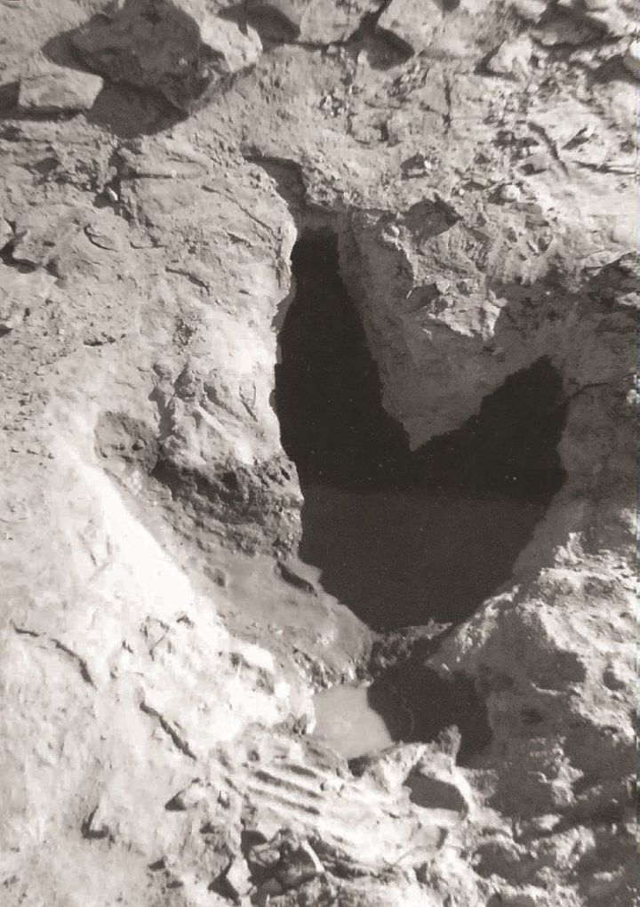 One of the&nbsp;footprints in Wyoming.<i></i>