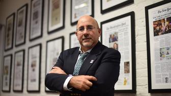 Attorney Evan Wolfson is seen at his office at the Freedom to Marry organization in New York June 25, 2015.  Attorney Wolfson has fought for most of his adult life to have same-sex marriage legalized in the United States.  His decades-long battle is expected to come to a close in the coming days with a potentially historic decision from the US Supreme Court on whether gay couples have the constitutional right to wed. AFP PHOTO /  TIMOTHY  A. CLARY        (Photo credit should read TIMOTHY A. CLARY/AFP/Getty Images)