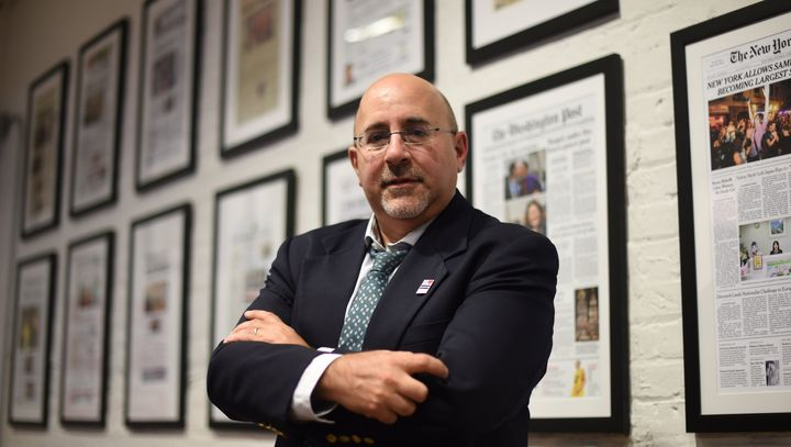 Attorney Evan Wolfson is seen at his office at the Freedom to Marry organization in New York on June 25, 2015.