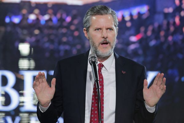 Jerry Lamon Falwell Jr., the president of Liberty University and the son of late televangelist Jerry Lamon Falwell, endorsed