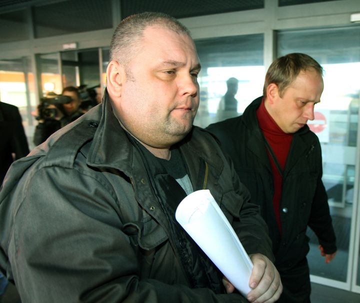 <i></i>Lithuania has arrested former Soviet army officer Yuri Mel, above, suspected of committing war crimes during a bloody