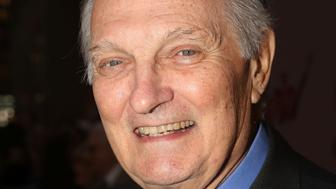 NEW YORK, NY - OCTOBER 27:  Alan Alda poses at The Opening Night Arrivals for 'Sylvia' on Broadway at The Cort Theatre on October 27, 2015 in New York City.  (Photo by Bruce Glikas/FilmMagic)