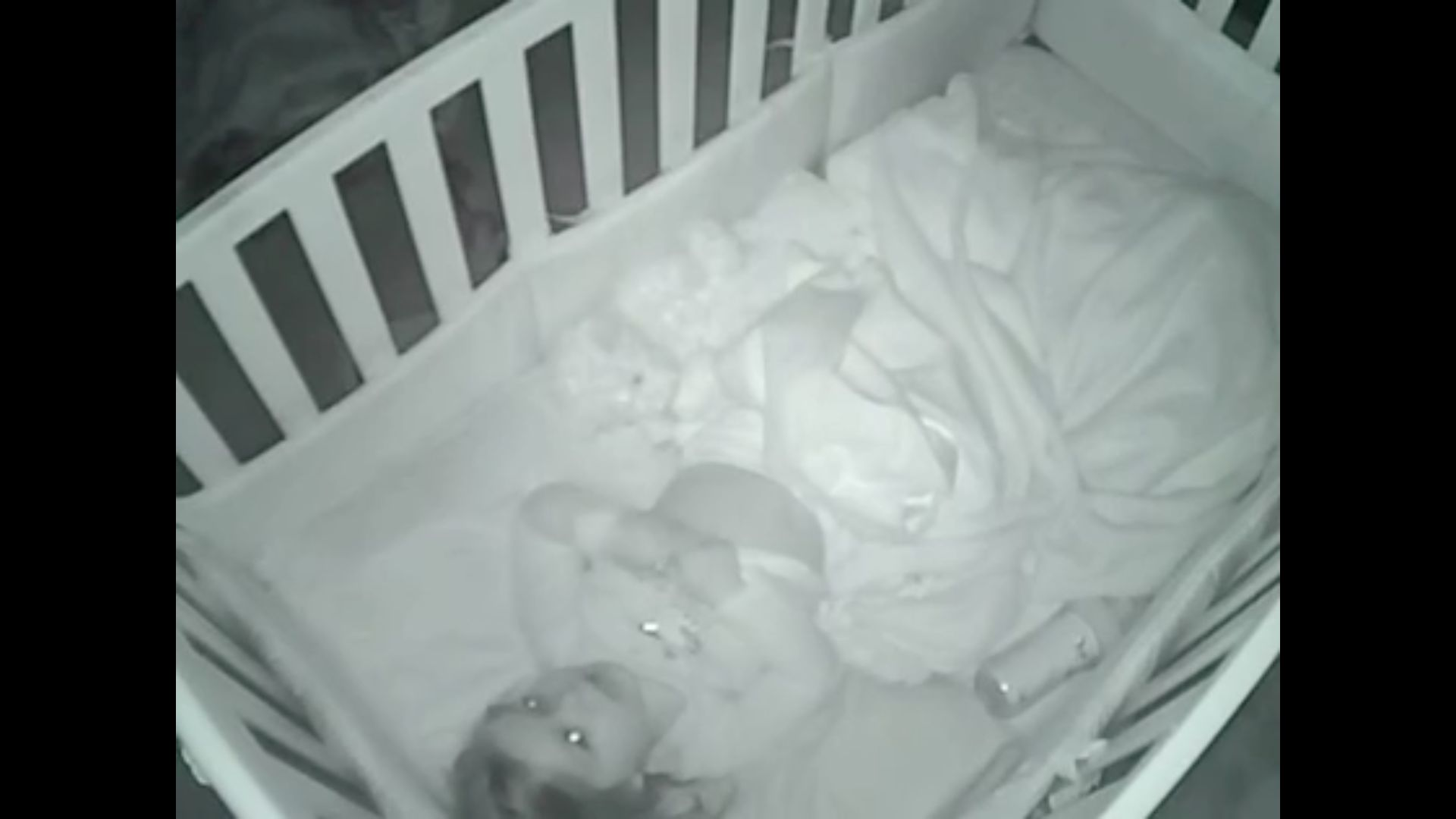 A baby monitor captured a South Carolina toddler praying to God about all the people in her life she's thankful for.