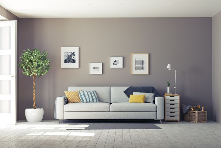 Woelfel identifieds grey as a goodcolor for spa-like relaxation in the home, whether it's your bedroom, bathroom or liv