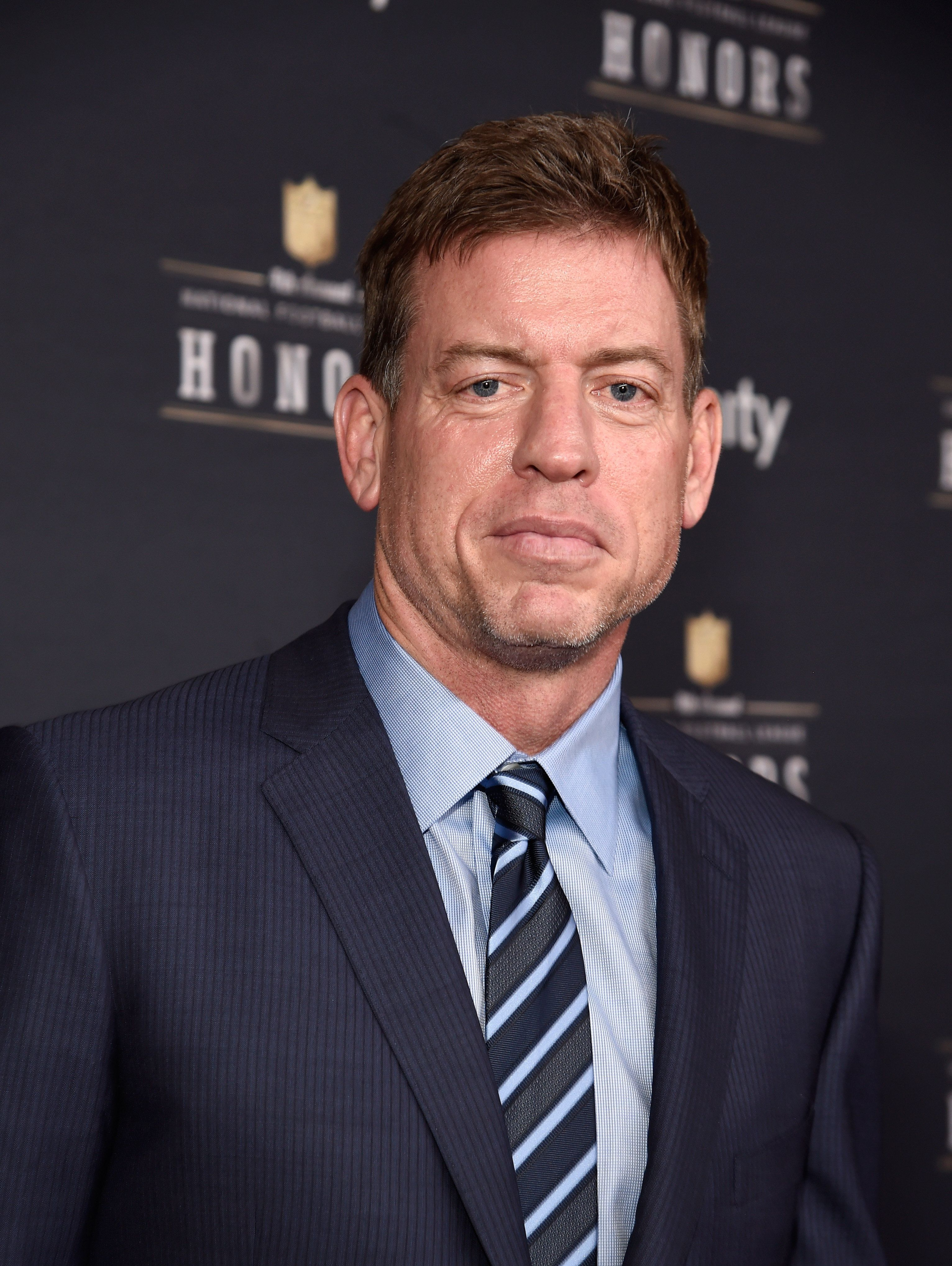 PHOENIX, AZ - JANUARY 31:  Retired NFL player Troy Aikman attends 4th Annual NFL Honors at Phoenix Convention Center on January 31, 2015 in Phoenix, Arizona.  (Photo by Kevin Mazur/WireImage)