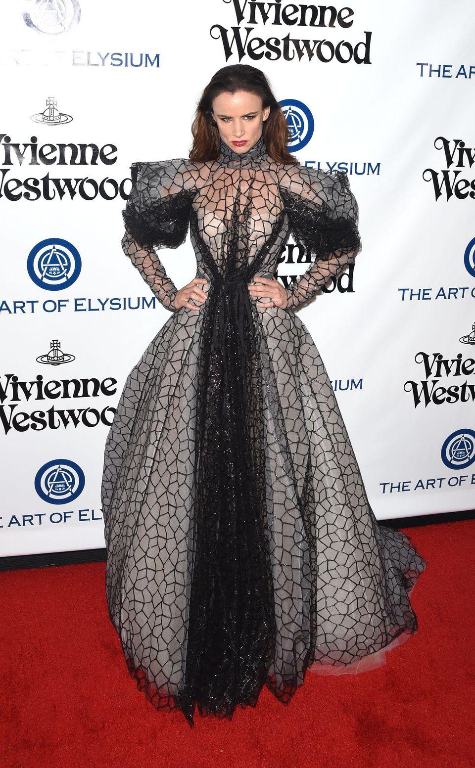 Atthe Art of Elysium 2016 HEAVEN Gala presented by Vivienne Westwood & Andreas Kronthaler in Culver City, Californi