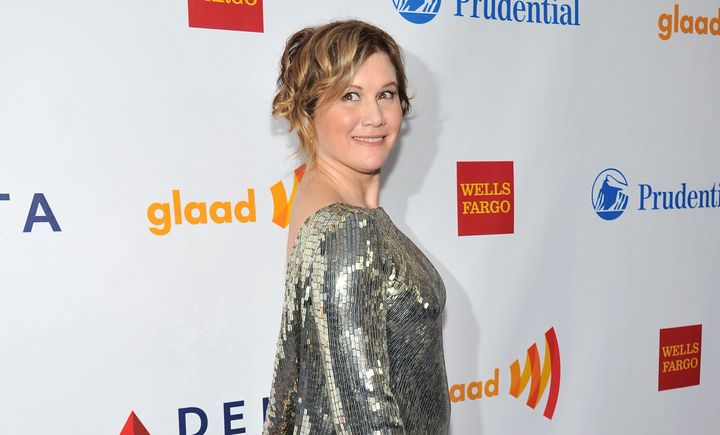 Gold attends the GLAAD Media Awardsa few weeks after Cameron's comments about homosexuality, where she stood on stage a