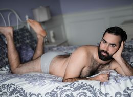 This Guy Served Up Some Fierceness In NSFW Boudoir Shoot For His Wife