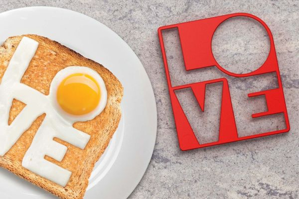 "The way to a man's heart is through his stomach. He'll know ""eggs-actly"" what you're thinking when you serve him<a href=""http"