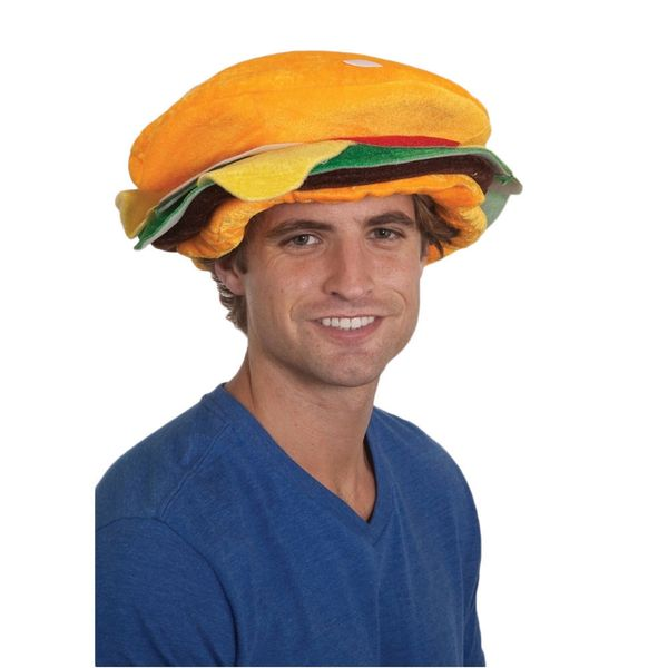 "A man who can look sexy&nbsp;in a <a href=""http://www.overstock.com/Main-Street-Revolution/Hamburger-Hat-Funny-Costume-Access"