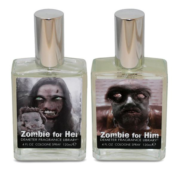 "Want to bring new life to a dead romance? Get some <a href=""http://www.overstock.com/Health-Beauty/Demeter-Zombie-for-Him-Men"