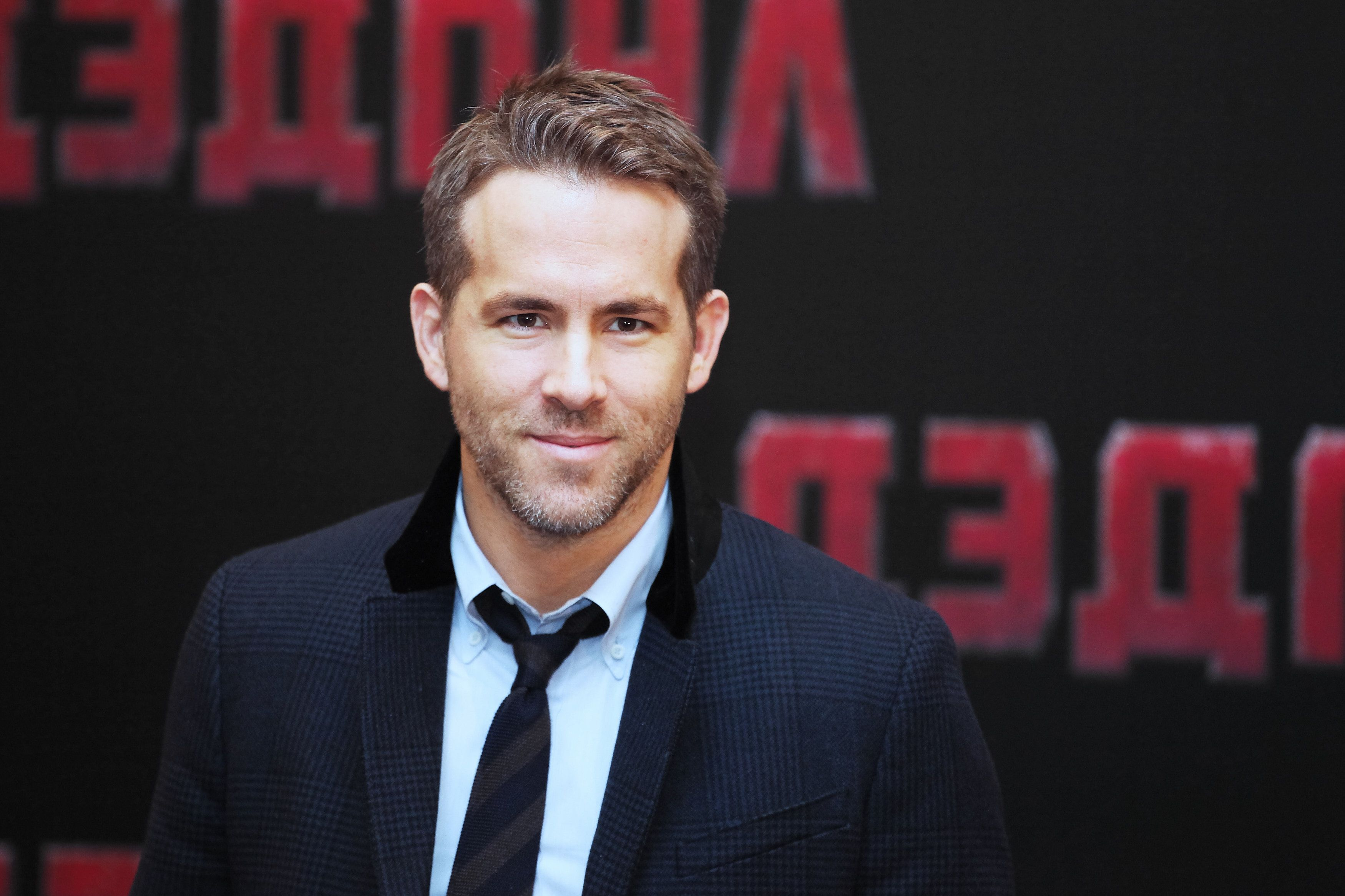 """The 39-year-old actor has been traversing the globe for his new movie, """"Deadpool,"""" which hits U.S. theaters Feb. 12, 2016."""