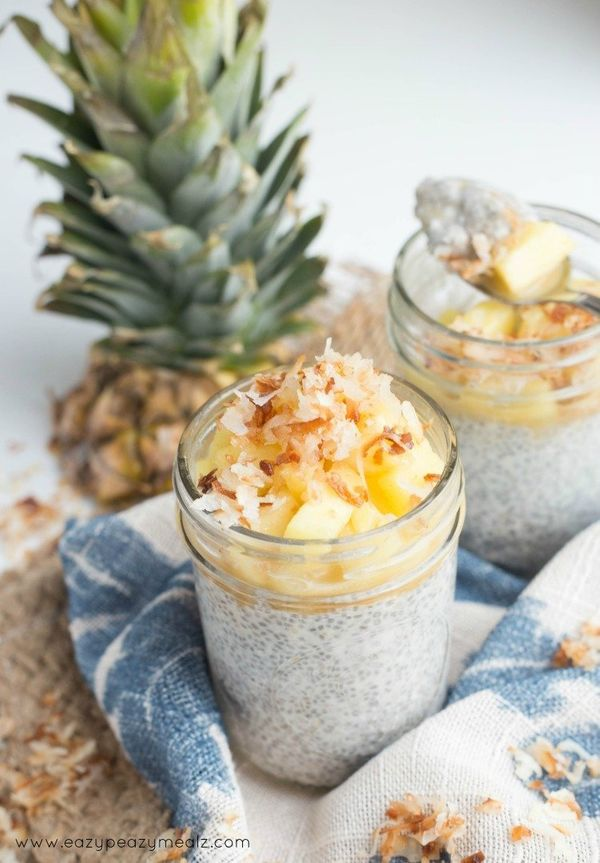 "<strong>Get the <a href=""http://www.eazypeazymealz.com/pina-colada-chia-pudding/"" target=""_blank"">Pina Colada Chia Pudding re"