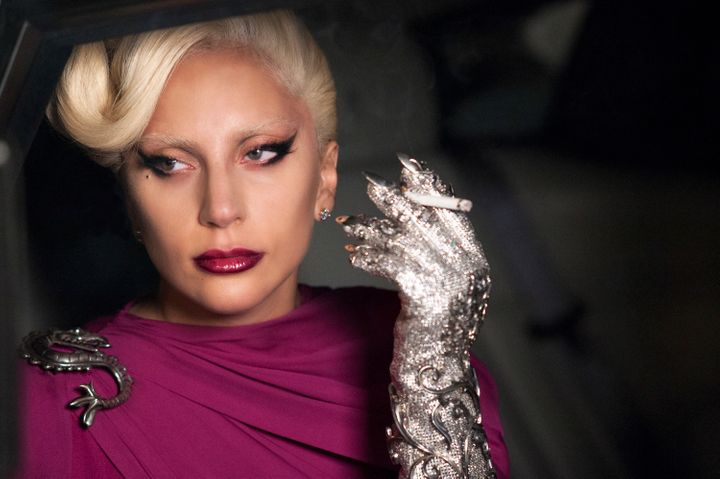 "Lady Gaga as the Countess in ""American Horror Story: Hotel."""