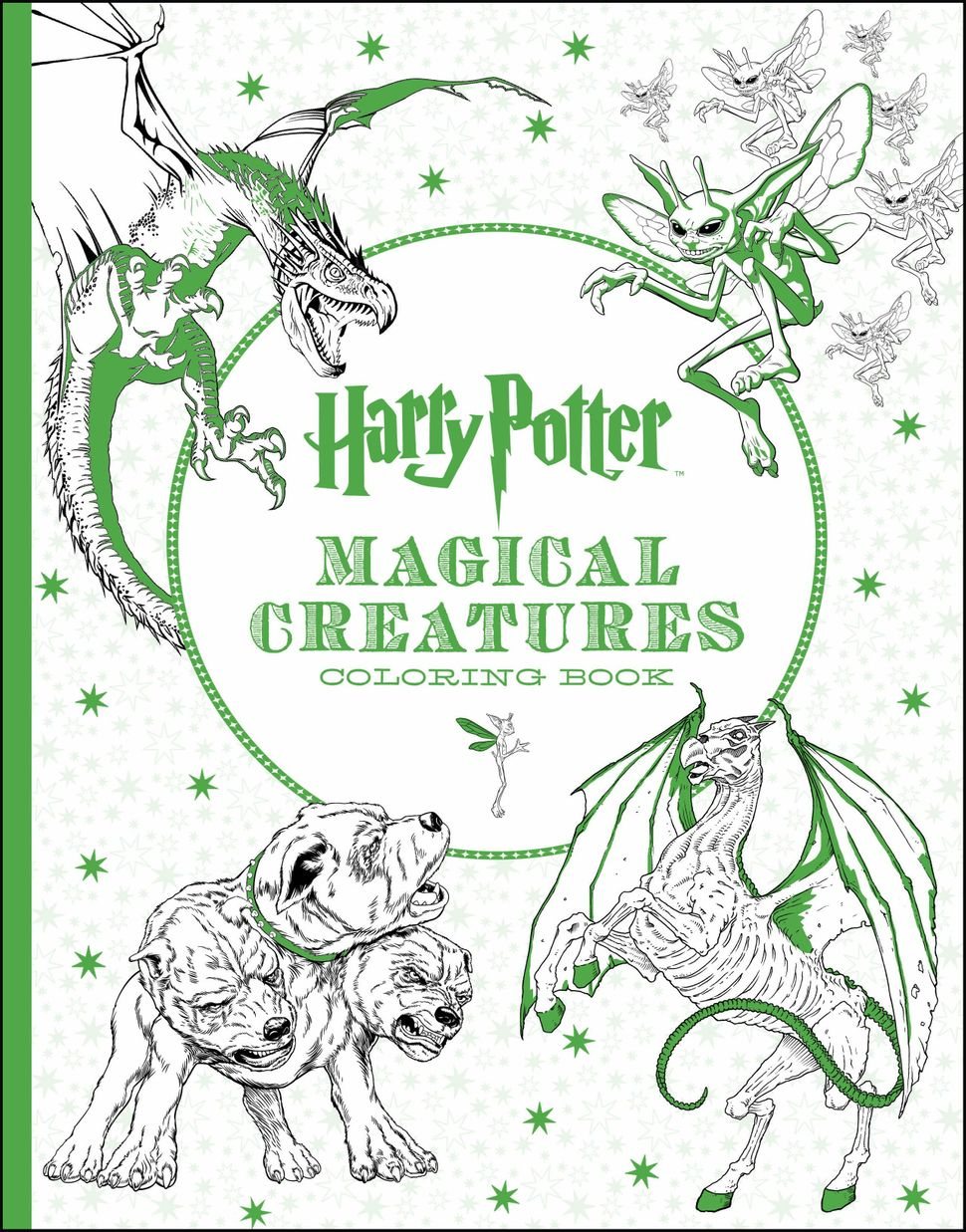 """Can't wait for """"Fantastic Beasts and Where to Find Them""""? Color your impatience away."""