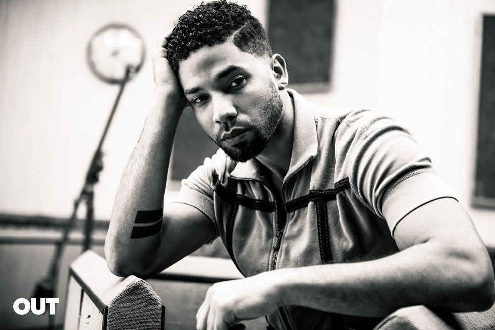 "The 32-year-old star of ""Empire"" opened up about his sexuality for Out magazine."