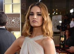 Lily James' Zombie-Fighting New Film Proves 'Strength Is Always Sexy'