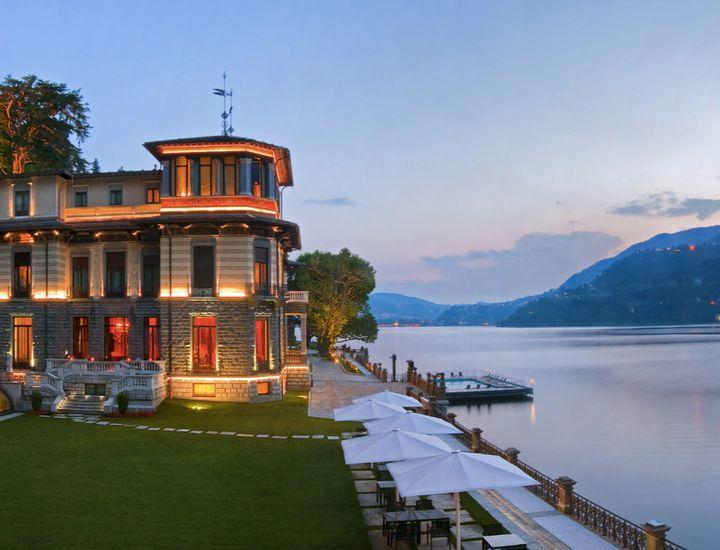 Villa Roccabruna, Lake Como.