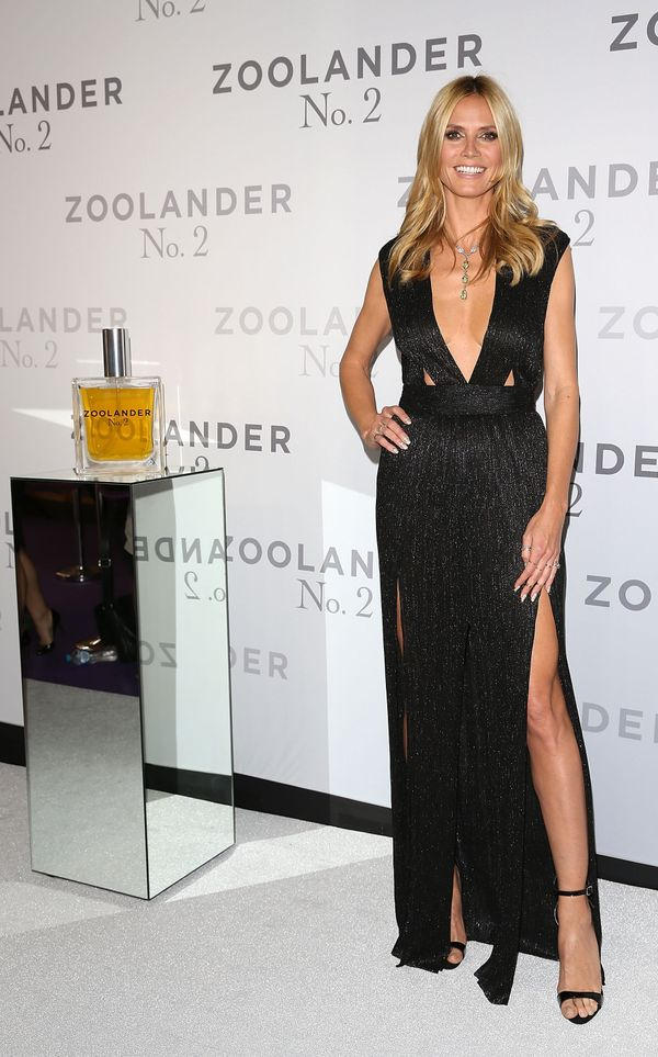 <strong>Heidi Klum in Bec & Bridge:</strong> What's not to love about this look? A black dress is classic, and this
