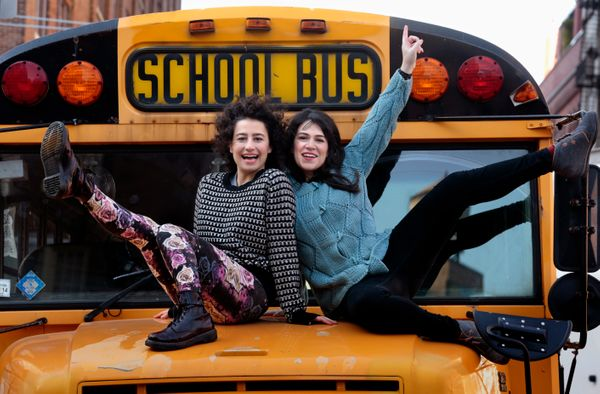 "Ilana Glazer and Abbi Jacobson return with a third season of their hit Comedy Central show, ""Broad City."" The show's fra"