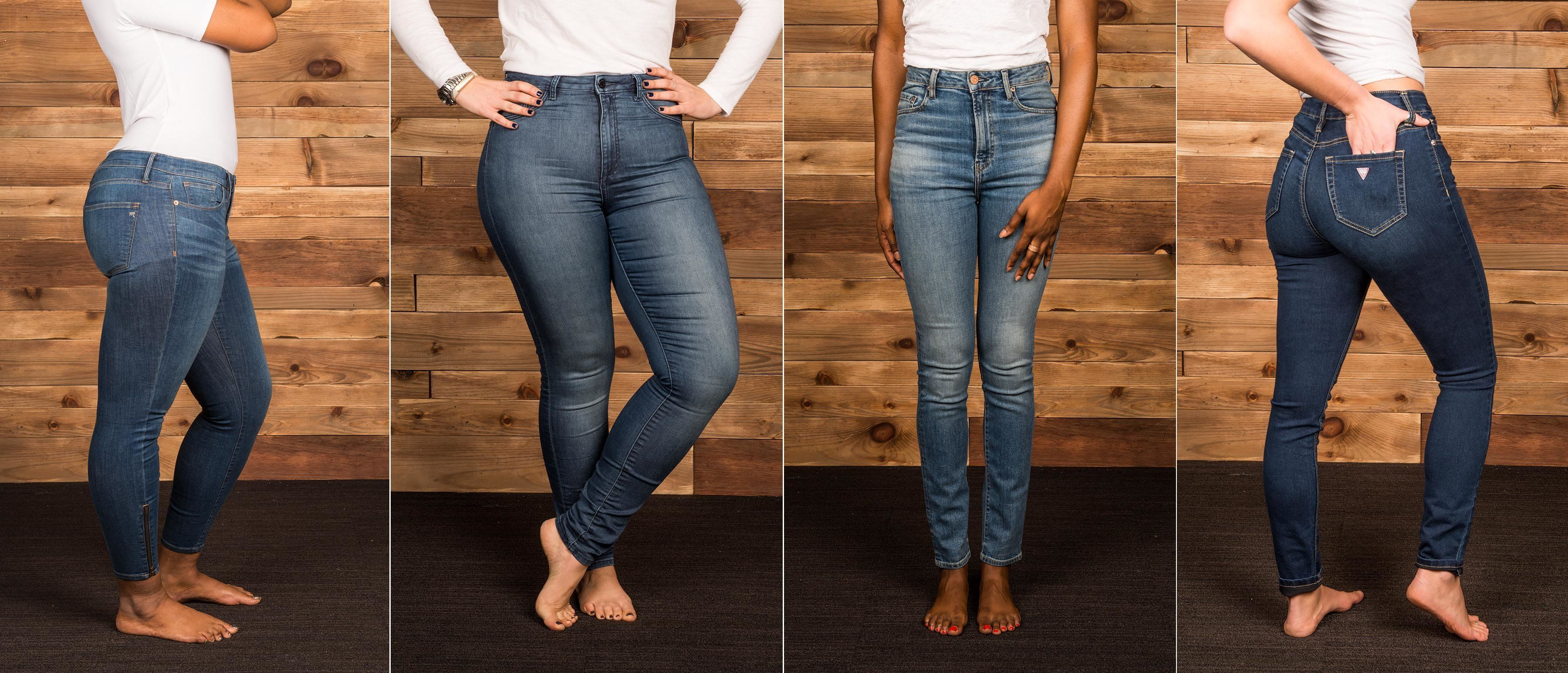 Skinny jeans to loose