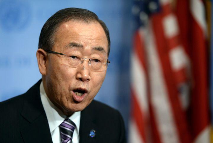 """U.N. Secretary-General Ban Ki-moon called North Korea's' latest nuclear test""""profoundly destabilizing for regional secu"""