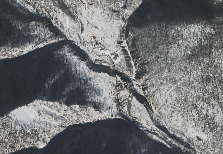 Punggye-ri Nuclear is North Korea's only known nuclear test site and is located in Kilju County, North Hamgyong Province.