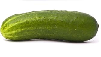 Fresh cucumbers set