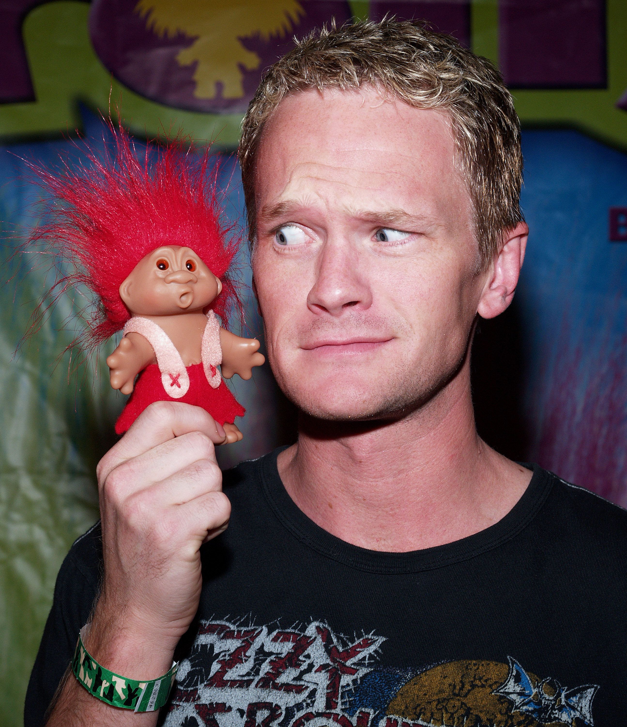 Neil Patrick Harris during The Original Lucky Trolls at Silver Spoons Hollywood Buffet - Day 1 at Private Residence in Beverly Hills, California, United States. (Photo by Michael Tran/FilmMagic)