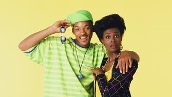 THE FRESH PRINCE OF BEL-AIR -- Season 1 -- Pictured: (l-r) Will Smith as William 'Will' Smith, Janet Hubert as Vivian Banks -- Photo by: Chris Cuffaio/NBCU Photo Bank