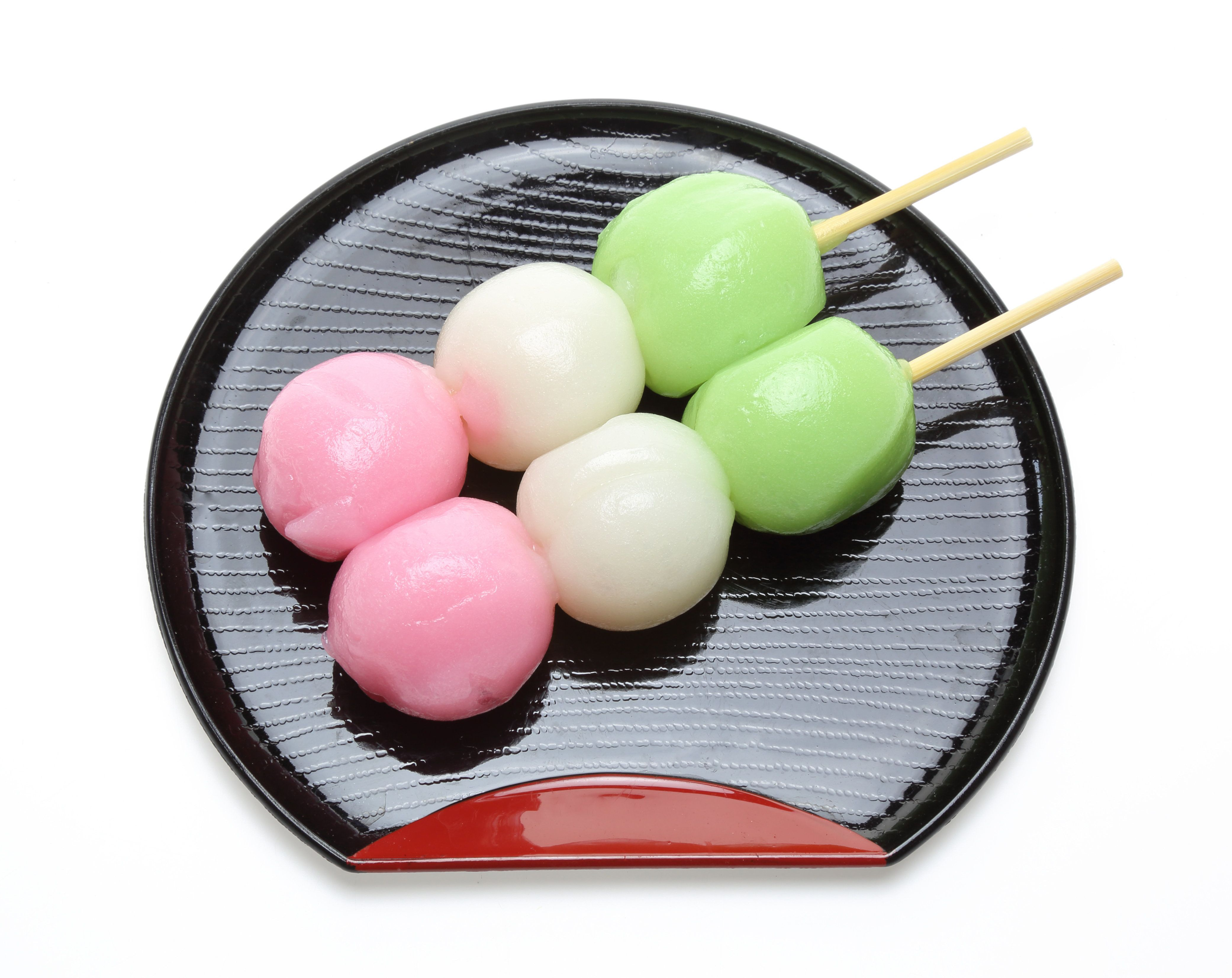 Pictured Japanese dumpling on a dish.