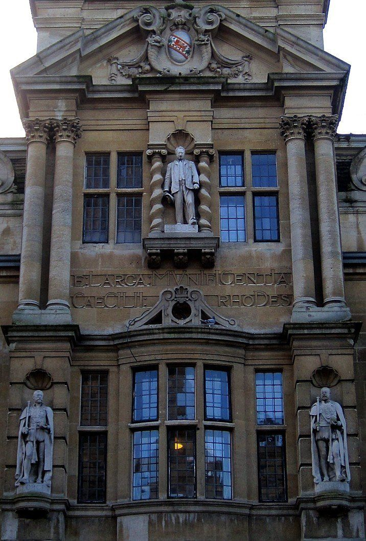 Rhodes Building, Oriel College, Oxford