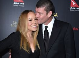Mariah Carey, James Packer And Her 35-Carat Ring Hit The Red Carpet