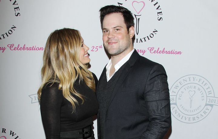 Hilary Duff and Mike Comrie in 2013.