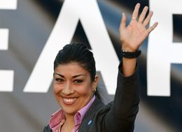 WATCH LIVE: Congressional Candidate Lucy Flores Talks 2016